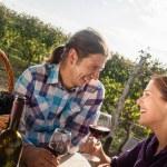 Beautiful Couple Drinking Wine — Stock Photo #74094307