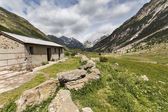 Rural landscape in spanish Pyrenees — Stock Photo