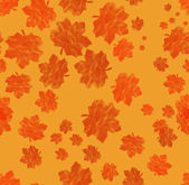 Hojas de textura transparente con rojo otoño — Foto de Stock
