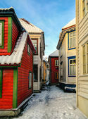 Arquitectura de Bergen — Foto de Stock