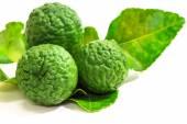 Bergamot fruit on white background.  — Stock Photo