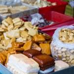 Tofu at traditional Taiwan market — Stock Photo #57332457