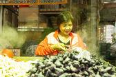 Traditional market in New Taipei City — Stock Photo