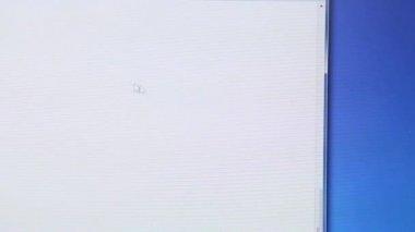 滚动条上的鼠标光标 — 图库视频影像