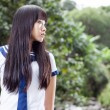 Asian senior high schoolgirl — Stock Photo #75557007