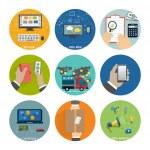 ������, ������: Seo social media Internet shopping process