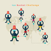 ALS Ice Bucket Challenge — Stock vektor