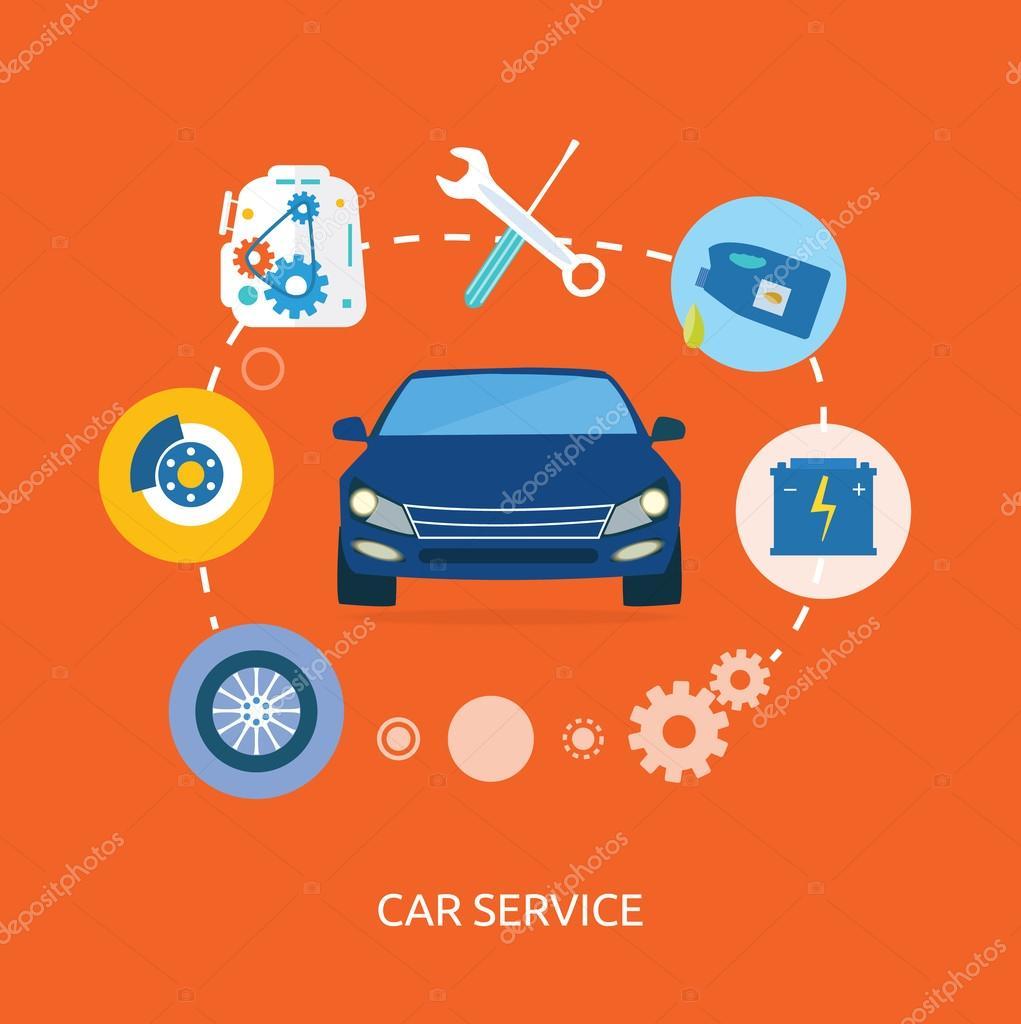 обслуживание и автомобилей ремонт