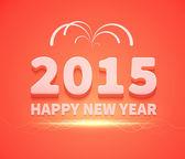 Happy New Year text — Stock Vector