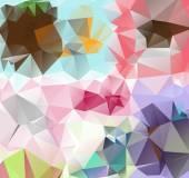 треугольник фон. узор из геометрических фигур — Cтоковый вектор