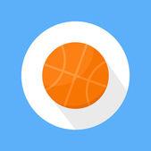 バスケット ボールのアイコン — ストックベクタ