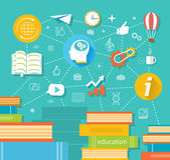 Education, professional education — Stock Vector