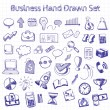 Set of doodle business management — Stock Vector #57892453