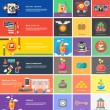 Icons for cash transactions, strategy, start up — 图库矢量图片 #60439095