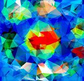 Trojúhelník pozadí. vzorek geometrických tvarů — Stock vektor