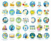 Set of Busines Icons — Stock Vector