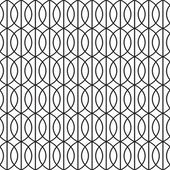 Seamless Art Deco Tracery Background Pattern Texture Wallpaper — Stock Vector
