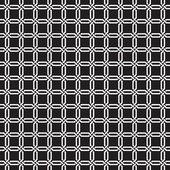 Seamless Interwoven Geometric Vector Background Texture — Stock Vector