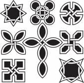 Celtic Knots in Vector Editable Format — Stock Vector
