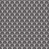 Seamless Art Deco Background Pattern Texture Wallpaper — Stock Vector