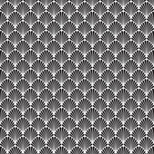 Seamless Art Deco Background Pattern Texture Wallpaper — Stock Vector