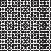 Бесшовные взаимосвязанных кольцо цепи геометрические вектор фоновой текстуры — Cтоковый вектор