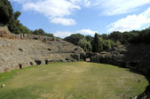 Sutri amphitheatre — Stock Photo