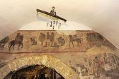 Old fresco in Apulia, Italy — Stock Photo