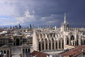 Skycrapes in Lombardy — Stock Photo