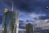 Modern skyscraper in Italy — Stock Photo