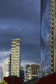 Tower Saloria in Milan — Stock Photo