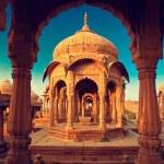 Bada Bagh cenotaph, Jaisalmer — Stock Photo #54658133