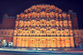 Hawa Mahal in Jaipur — Stock Photo