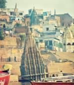 Shiva temple  in Varanasi — Stock Photo