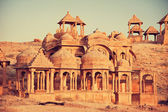 Bada Bagh cenotaph, Jaisalmer — Stock Photo