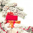 Christmas gifts under the tree — Stock Photo #58568209