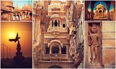 Rajasthan and Jaisalmer with Jaipur — Foto Stock