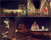 Florence collage pictures — ストック写真