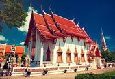 Buddhist temple in Phuket island — Foto de Stock