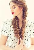 Portrait of pretty girl — Stock Photo