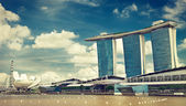 Marina Bay Sands Resort Hotel — Stock Photo