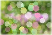 Abstrait des cercles lumineux sur un fond coloré — Photo
