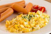 Míchaná vejce — Stock fotografie