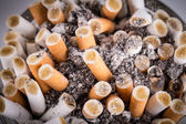 Cigarette in ashtray — Stock Photo