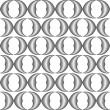 Design seamless monochrome grid pattern — Stock Vector