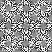 Design seamless monochrome spiral movement snakeskin pattern — Stock Vector
