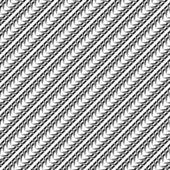 Patrón diagonal monocromo transparente de diseño — Vector de stock