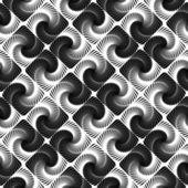 Design seamless vortex movement strip geometric pattern — Stock Vector