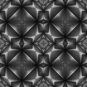 Sömlös dekorativa spaljerade designmönster — Stockvektor