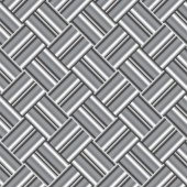 Design seamless monochrome metallic pattern — Wektor stockowy